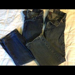2 Pair Boys' Children's Place Jeans